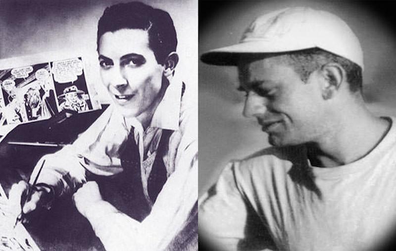 Bob-Kane-left-and-Bill-Finger-right
