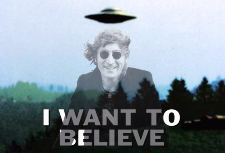 Playing Those Mind Games John Lennon And Ufos Fantasy Merchant